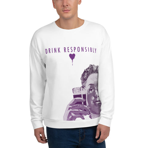 Drink Responsibly Crewneck - Urban Vessels Clothing