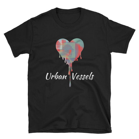 Rose Heart Tee - Urban Vessels Clothing