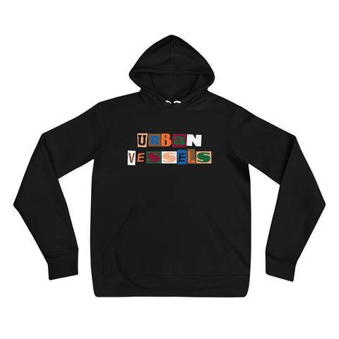Collage Hoodie - Urban Vessels Clothing