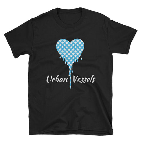 Star Heart Tee - Urban Vessels Clothing