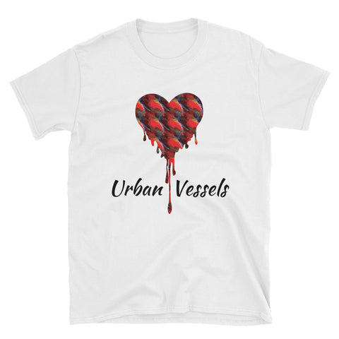 Peacock Heart Tee - Urban Vessels Clothing