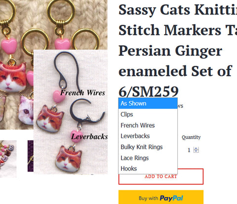 Stitch Markers with Rings