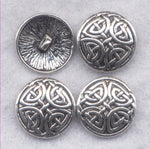 Ornate Celtic Shank Buttons Filigree Sturdy Metal Buttons 18mm (5/8 inch) Set of 8/BT384