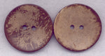 Brown Coconut Wood Buttons Wooden 42mm (1 3/4 inch) Set of 4/BT528