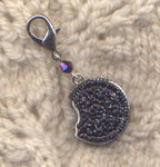 Chocolate Sandwich Cookie Stitch Marker Clip Cookies Single /SM298