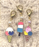 Ice-cream Treats Progress Keeper Clips Summer Heat Set of 3 /SM02