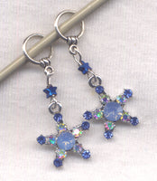 Blue Starfish Stitch Markers Seaside Wishes Set of 2 /SM105