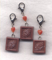 Chocolate Chunk Progress Keeper Clip Candy Single /SM130A