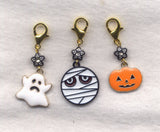 Halloween Ghouls progress keeper clips Set of 3 /SM157A