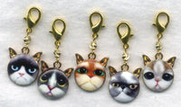 Emo Cats Progress Keeper Clips Set of 5/SM162A