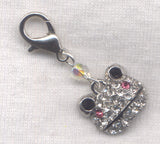 Bling Frog Stitch Marker Clips Rhinestone Bling Frogging Single /SM164
