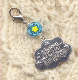 Happy Birthday Stitch Marker Clip Single /SM76A