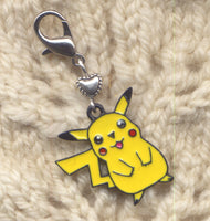 Pokemon Pikachu Knitting Stitch Marker Clip enameled Single /SM256F