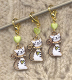 Happy Cat progress keeper clips Set of 3/SM161 Limited Edition!