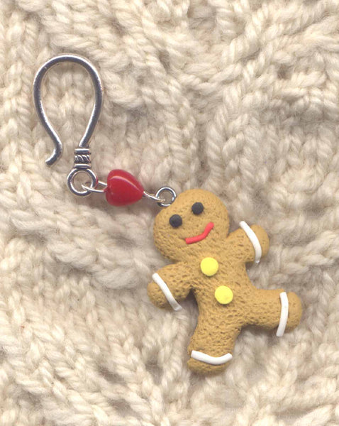 Gingerbread Man Progress Keeper Hook Christmas Cookie Each/ SM312