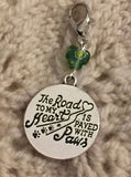 The Road to My Heart is Paved With Paws Progress Keeper Clip Single /SM336