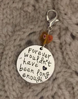 Forever Wouldn't Have Been Long Enough Progress Keeper Clip Single /SM349