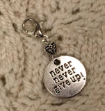 Never Never Give Up Progress Keeper Clip Single /SM358