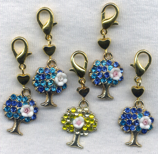 Fairy Forest Progress Keeper Clips Set of 5 /SM39