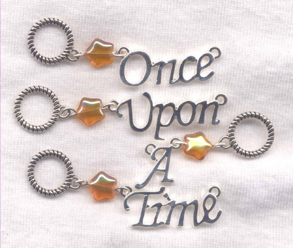 Fairy Tale Knitting Stitch Markers Once Upon A Time Set of 4 /SM55D