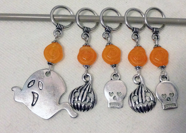 Spooky Spooks Knitting Stitch Markers Halloween Fun Set of 5/SM80A