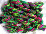 Noro Big Bebe Bulky Luxury Yarn Color 3 Lime Emerald Pink Lot of 3 Skeins