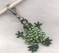 Green Frog Stitch Marker Clip  single/ SM197C