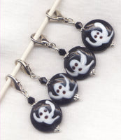 Ghosts Stitch Marker Clip Halloween  Each/ SM253D