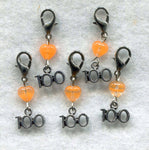 Stitch Count Stitch Markers LACE Socks 100 Count  Set of 5 /SM131