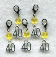 Stitch Count Stitch Markers 40 Count Set of 5 /SM133