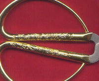 Gold Phoenix Scissors Sturdy Sharp Metal 1 Pair Great Gift