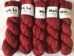 Mar La 100% virgin wool Classic Elite Yarns 1 skein #8558 Reds 100gm each