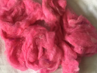 Cotton Candy Hot Pink Wool blend 4 ounces B022