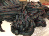 Blue Spruce by Paradise Fibres Corriedale Superwash Wool 4 ounces B028