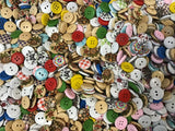 5/8 Inch Allsorts Mix Assortment Buttons 15mm BK11