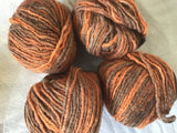 Bunny Tahki Stacy Charles space dyed Merino blend yarn 2 balls 50gm each