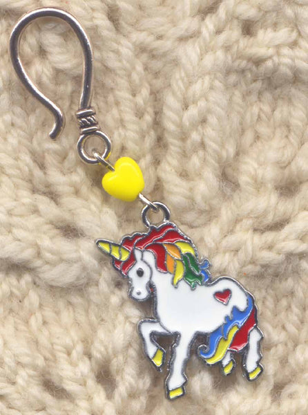 Rainbow Unicorn Progress Keeper Hook Single /SM277