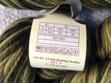 Deluxe Worsted Tones Wool Universal Yarns Lot of 2 skeins 220 yards each