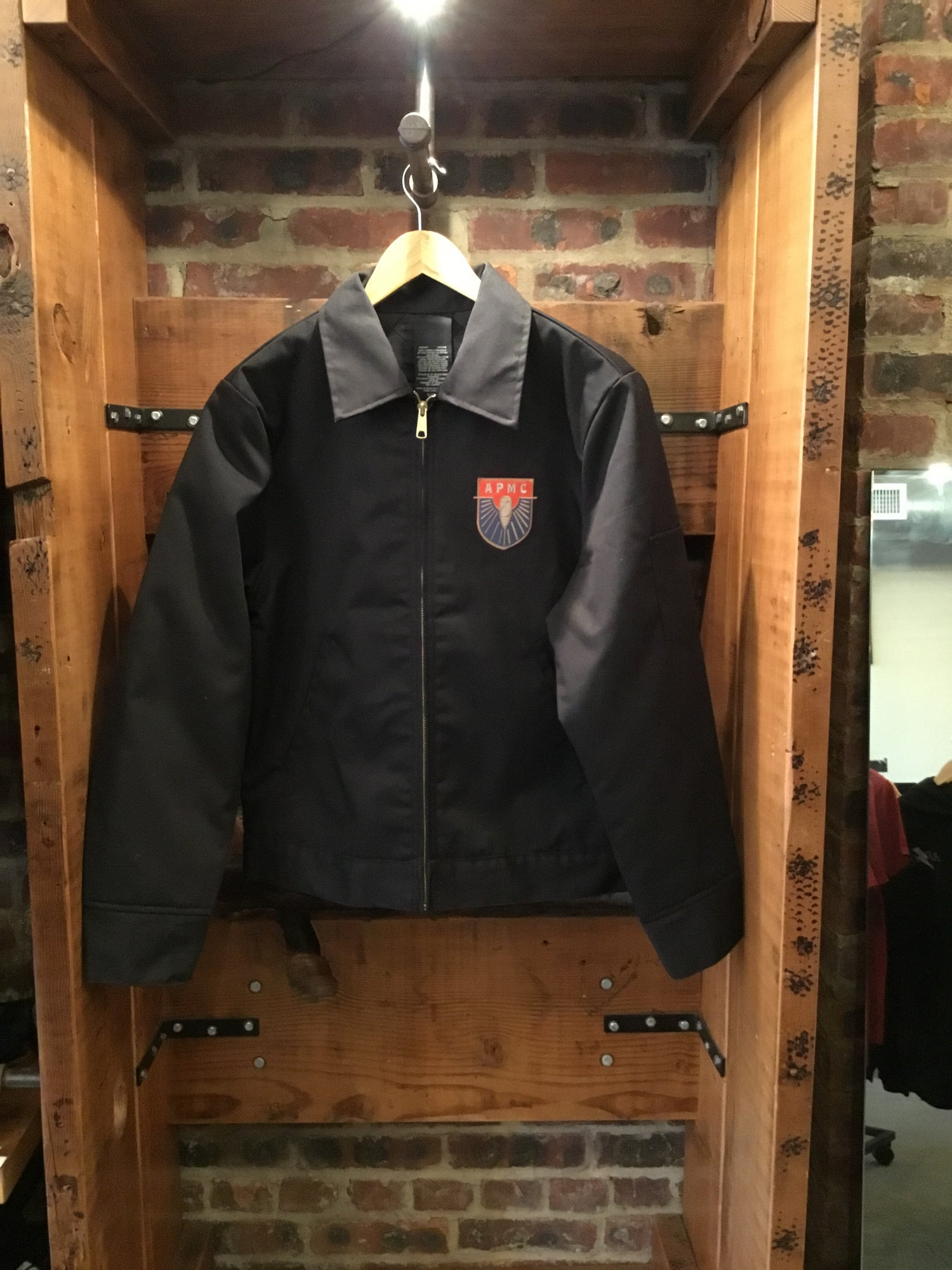 Moto Club Shop Jacket Black