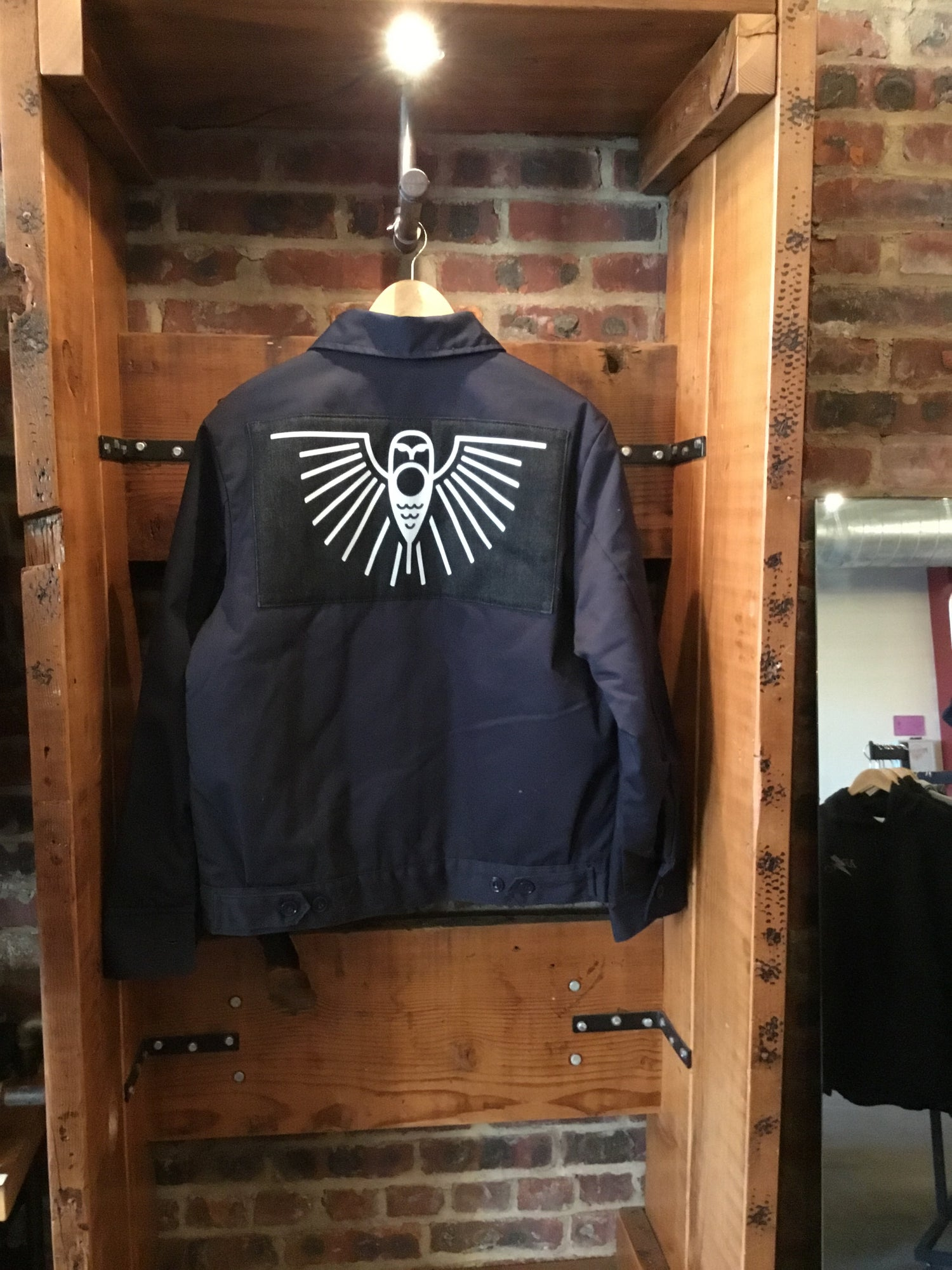 Moto Club Shop Jacket Navy