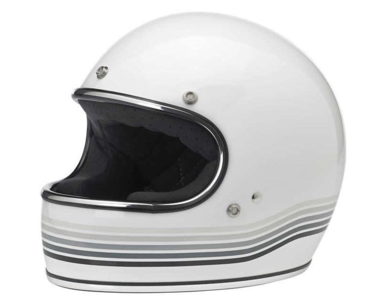 Gringo Helmet - Spectrum Gloss White