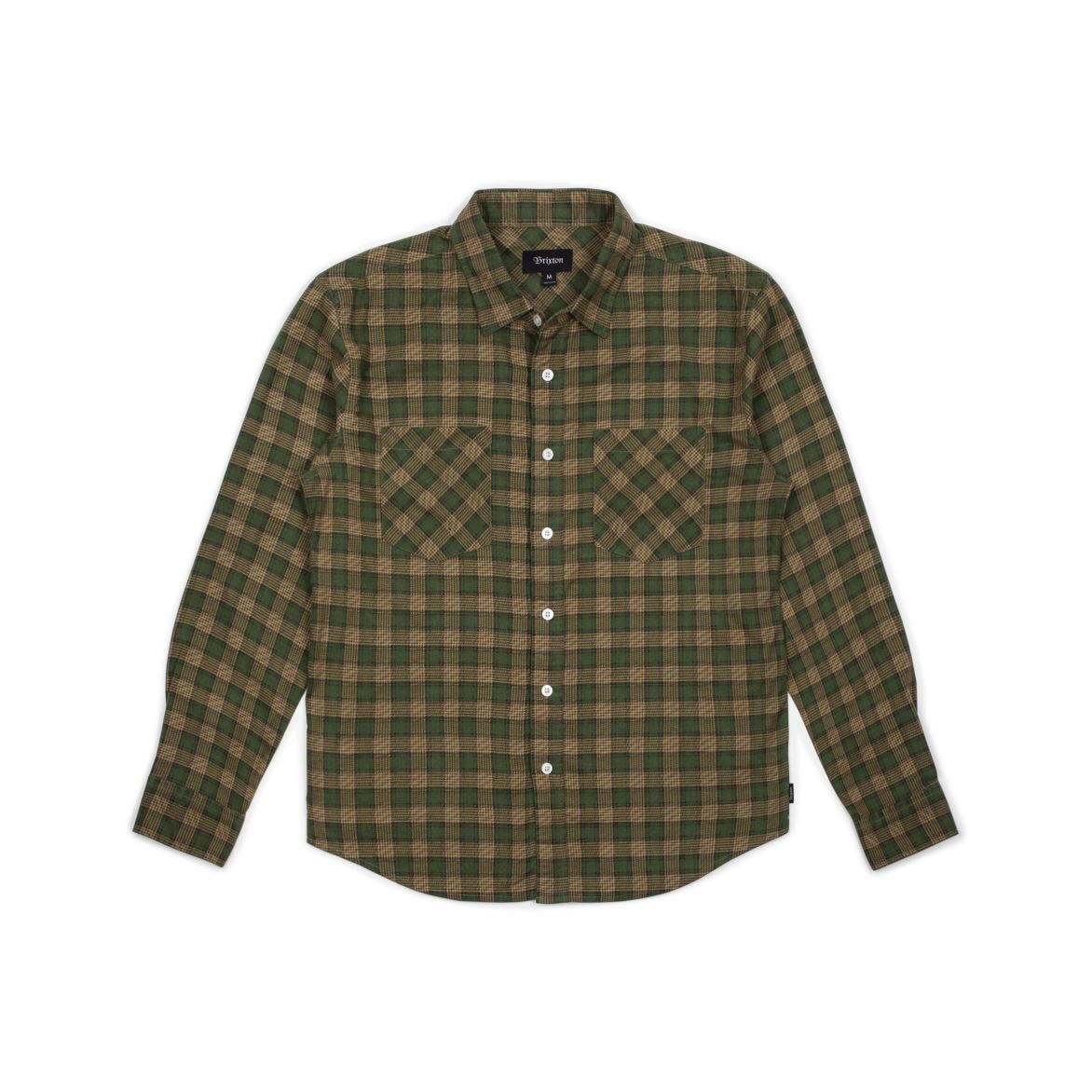 Bennet Flannel Forest/Khaki