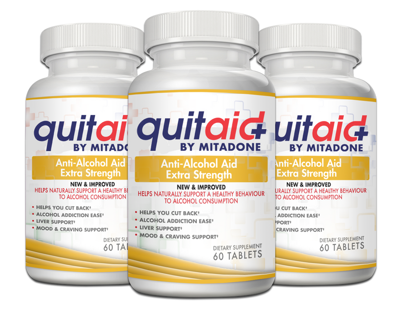 Mitadone Anti Alcohol Aid - 3 Month Supply