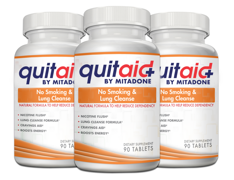 Mitadone No Smoking & Lung Cleanse - 3 Month Supply