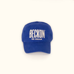 Beckon Logo Hat in Lapis