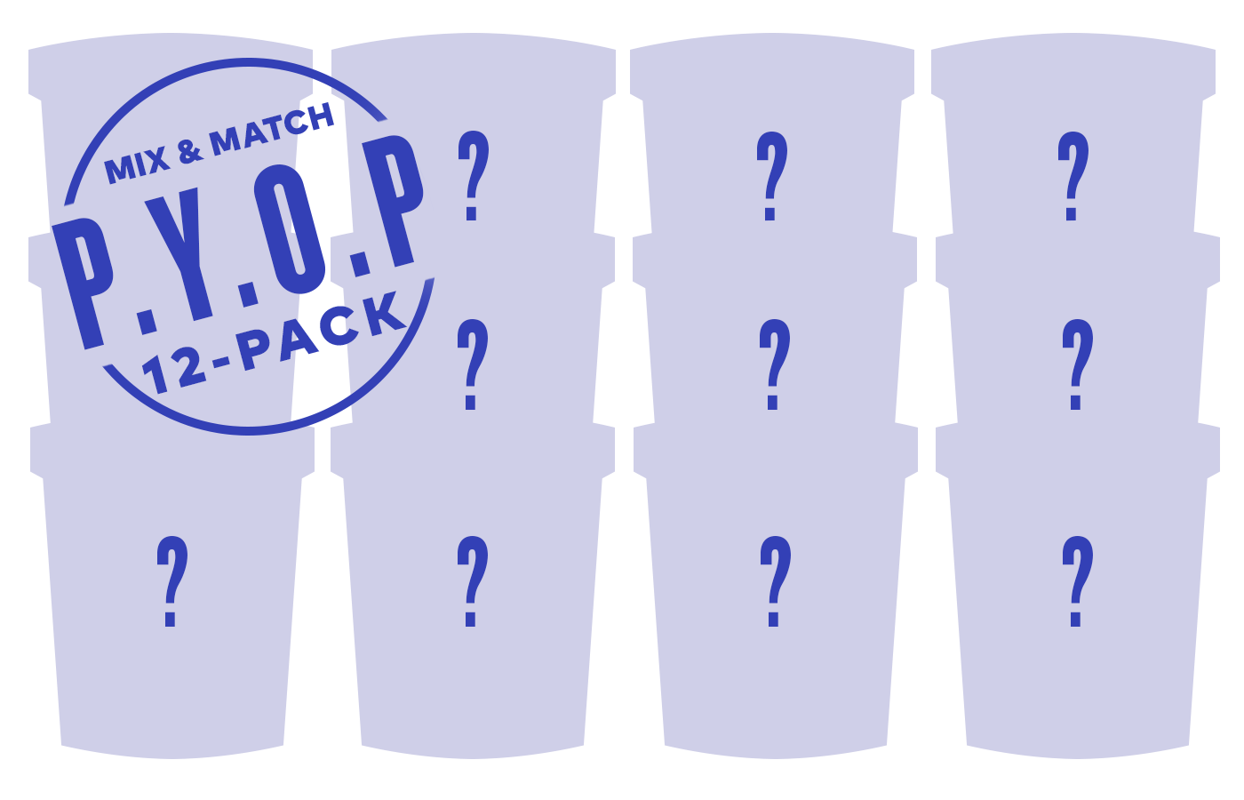 Pick Your Own Pints - 12 Pack