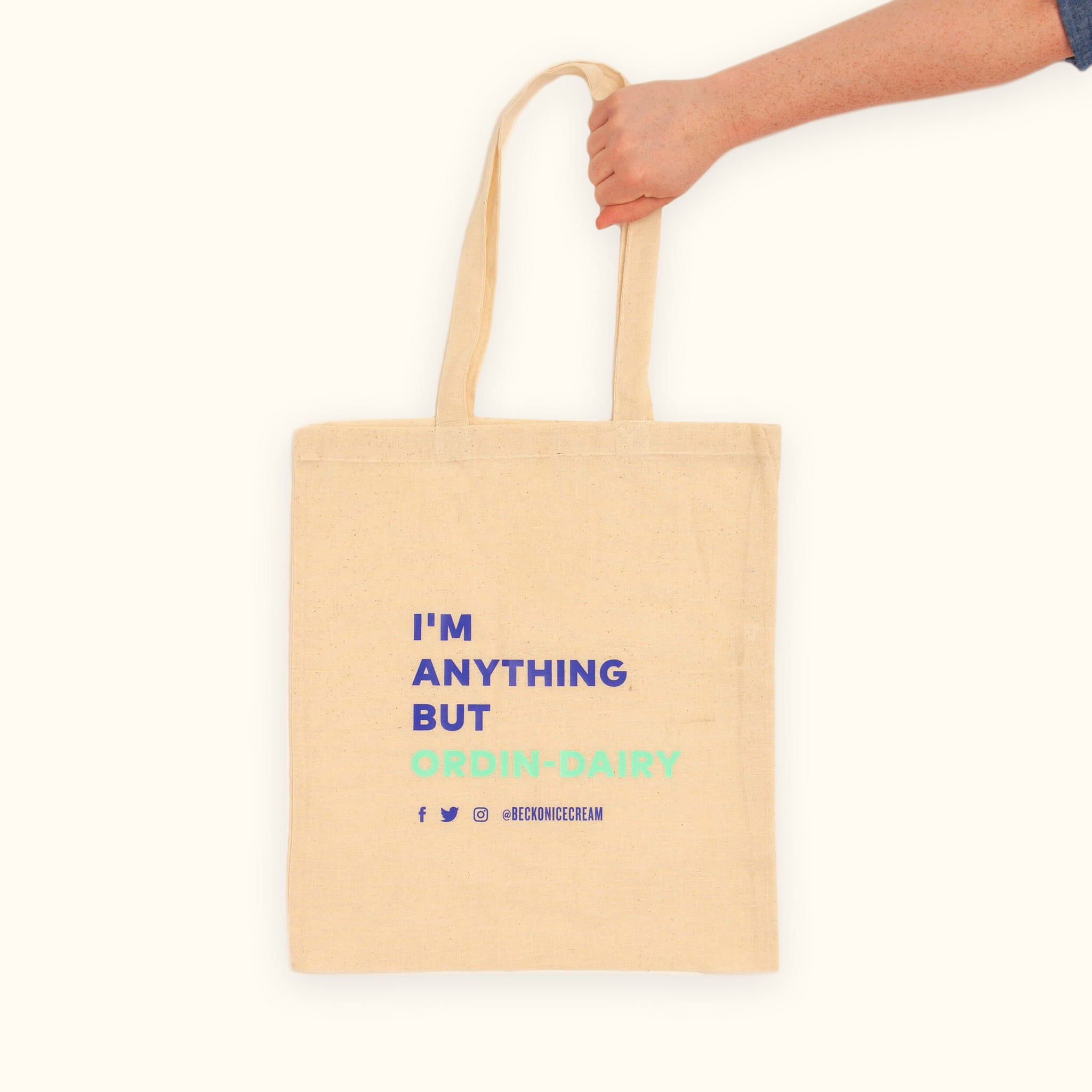 """I'm Anything But Ordin-dairy"" Tote"