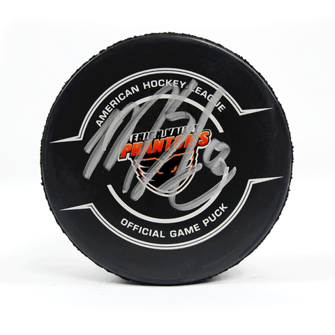 #8 Matthew Strome Autographed Game Puck
