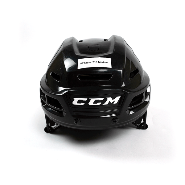 CCM Black  HTTACKS 710 Medium Helmet
