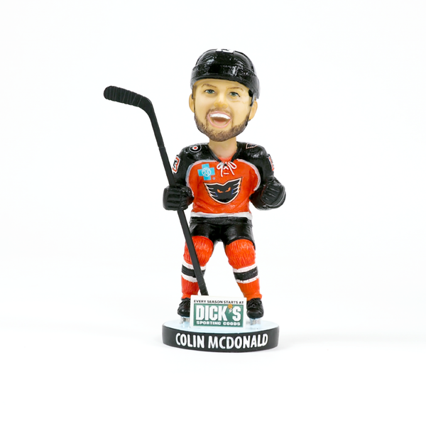 #13 Colin McDonald Bobble Head -